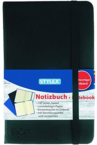 Notizbuch, kariert, 9,0 x 14,0 cm, 192 Seiten