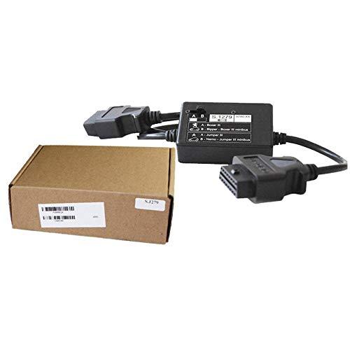 shuaishuang573 S1279 USB KKL Cable para diagnóstico de Peugeot Citroen OBD2 OBDII de Coches escáner UP