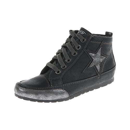 MARCO TOZZI Damen Schuhe Schnürschuh Halbschuh Black Antic 22520521002 (38 EU)