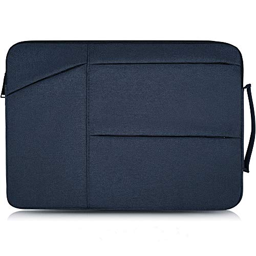 "14-15 Inch Laptop Sleeve Waterproof Shockproof Protective Case Compatible Acer 14"" Chromebook,HP Stream 14,HP Chromebook 14,Dell Inspiron 14"",Lenovo Yoga 920 13.9"",ASUS 14 inch Notebook Bag,Navy Blue"