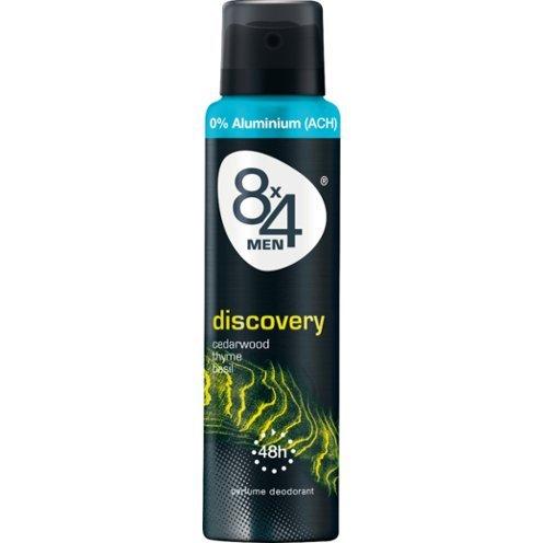8x4 deodorant spray 150ml Discovery voor mannen