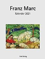 Franz Marc 2021. Kunstkarten-Einsteckkalender