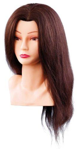 Comair 7000798 Ellen- Rizador de pelo con busto, color marr