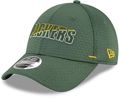 New Era Green Bay Packers Kids 940 NFL Training Stretch Snap Cap (Age 5-10 Years)