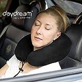 daydream PREMIUM-Reise-Nackenkissen mit Memory Foam, verschiedene Farben (N-5401),Nackenhörnchen,...
