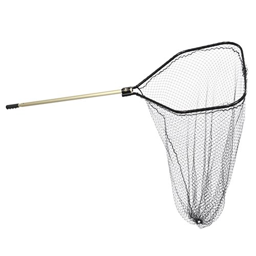 Frabill 8523 Power Stow Net with 48-Inch Telescoping Handle, 30 x...