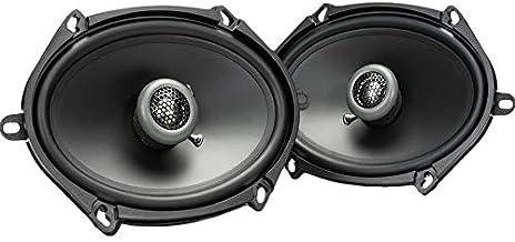 MB Quart FKB168 Formula Car Speakers (Black, Pair) – 5x7-6x8 Inch Coaxial Speakers, 50 Watt, 2-Way Car Audio, Internal Cro... photo