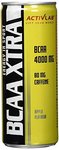 Activlab BCAA Xtra Drink + Caffeine (24x250ml) Apple, 24 Stück