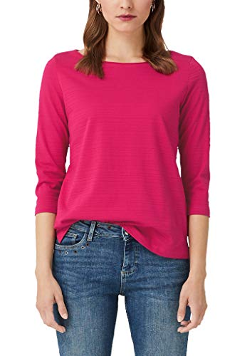 s.Oliver Damen 14.908.39.2774 T-Shirt, Rosa (Pink 4436), (Herstellergröße: 38)
