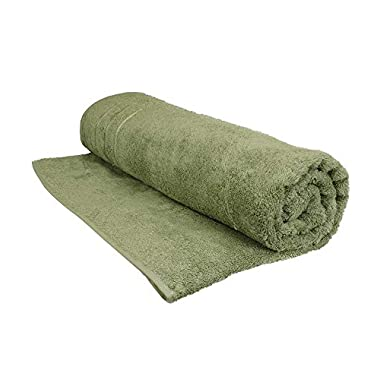 Cariloha Bamboo Bath Sheet by Highly Absorbent - Odor Resistant - Moisture Wicking (Caribbean Mint)