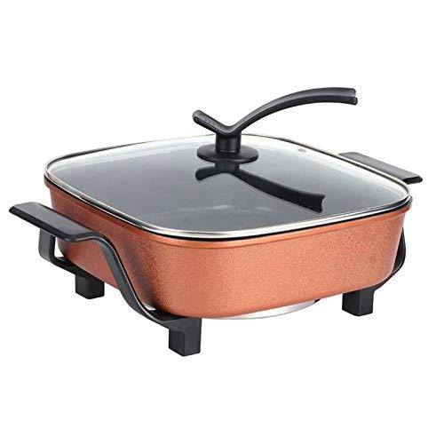 GMZS Multifuncional en Olla eléctrica, 5L Acero Inoxidable Cocina eléctrica, Olla de...