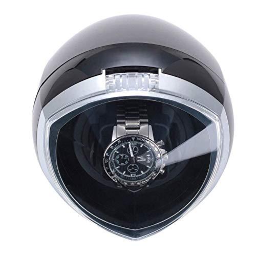 Enrollador de Reloj automático único con Control de Temporizador Inteligente y Modo de Movimiento de luz LED 4 - Negro
