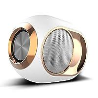 2020年の新しいX6ワイヤレススピーカー、タッチポータブルサブウーファー、内蔵ブルートゥース 5.0スマートチップ、FMラジオ