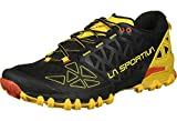 LA SPORTIVA Bushido II, Zapatillas de Trail Running Hombre, Black Yellow, 46 EU