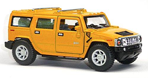 Hummer H2 SUV gelb 2008 1:40 Modellauto 12152 [Spielzeug]
