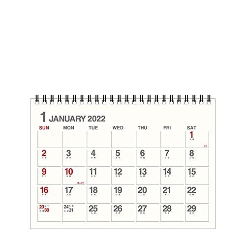 エトランジェディコスタリカ 2022年 カレンダー 卓上 A5 アイボリー 0102-CLT-A-01