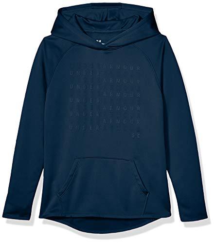 Under Armour Dziewczęca polarowa bluza z logo (431)/tandem turkusowy, młodzieżowy S