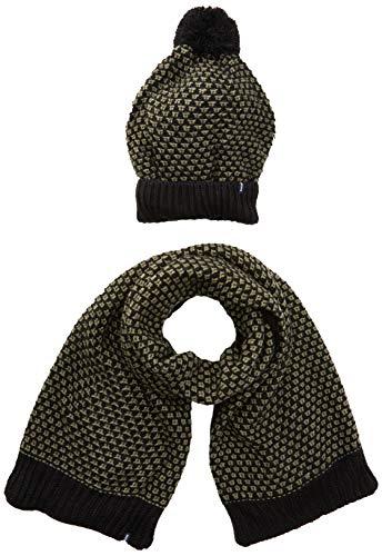 Brums gebreide muts met fleece en sjaal tricot, handschoenen voor kinderen