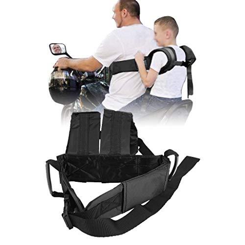 Cintura di Sicurezza Bambini,Ideale per Portare Bimbo Moto Veicoli Elettrici Moto Cintura di Sicurezza Bambino Moto Cintura Bambino Cinghia...