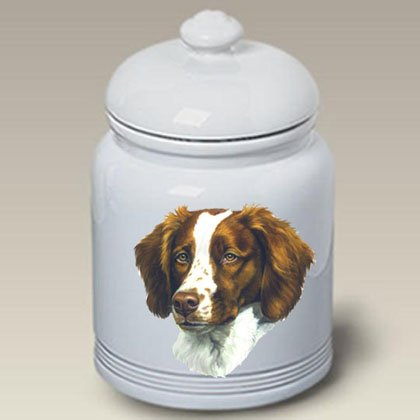Review Best of Breed Brittany Spaniel - Linda Picken Treat Jar