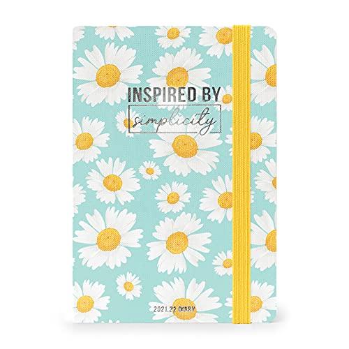 Legami - Agenda Settimanale 18 mesi 2021/2022, Medium con Notebook, Daisy