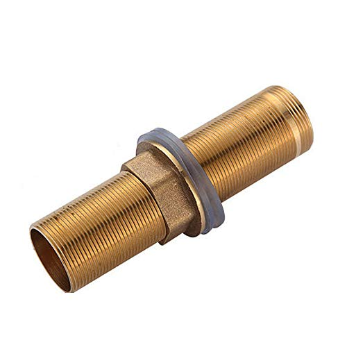 6 inch Extra Length Shank Nuts Faucet Tap Extension Threaded Pipe Mounting Hardware Part 15cm