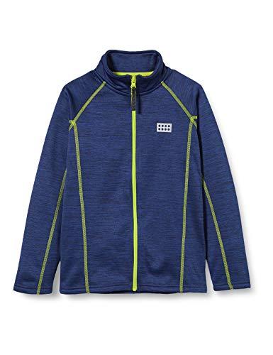 LEGO Wear Jungen LWSAM FLEECEJACKE Jacke,, per pack Blau (Blue 565), 110 (Herstellergröße: 110)