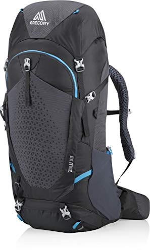 Gregory Zulu 55 MD/LG Backpack Ozone Black, REG