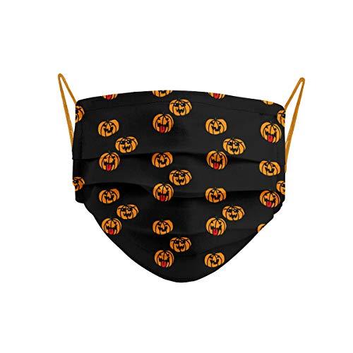 Cencibel Smart Casual Mascarilla Homologada Halloween Calabazas Callate La Boca (Niño (6-11 años))