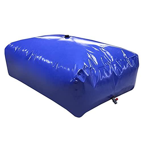 XJJUN Bolsa De Agua, Cubo De Agua Flexible Plegable De Alta Capacidad Software para Vehículos Resistente A La Sequía Bolsa Grande De Almacenamiento De Líquidos (Color : Blue, Size : 6000L/3X2X1M)