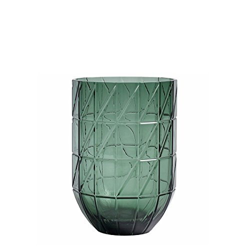HAY - Colour Vaas Glazen vaas, L, groen
