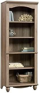 Bowery Hill 5 Shelf Bookcase in Salt Oak