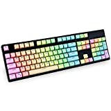 Bossi 104 PBT Gradient Keycaps Set | Cherry MX Switch Backlit Keycaps for Mechanical Gaming Keyboard (Only Keycaps) …