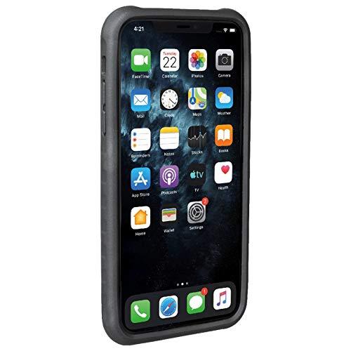 Topeak Unisex– Erwachsene RideCare für iPhone 11 Smartphonehülle, schwarz-grau, Pro Max ohne Halter