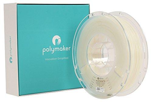 LulzBot Polydissolve S1, Polymaker, 2.85 mm Diameter, 750 g, White