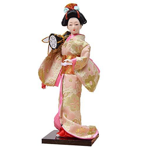 Uziqueif Muecas Japonesa Kimono mueca Geisha decoracin del hogar Coleccin de Arte munecas,A7