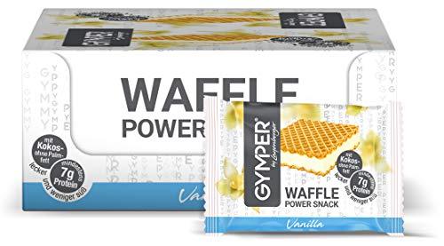 test GYMPER mit Ray Emberger Protein Waffel Power Snack Vanille Trank Packung (24 x 20,8 g) Deutschland