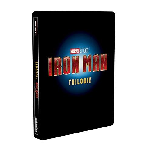 Iron Man-Trilogie Steelbook (4K Ultra HD) [Blu-ray] [Limited Edition]