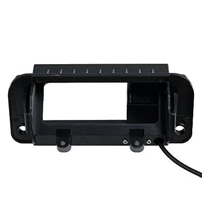Rueckfahrkamera-wasserdicht-Nachtsicht-Auto-Rueckansicht-Kamera-Einparkhilfe-Rueckfahrsystem-Kennzeichenleuchte-Schwarz-fuer-MB-C-Class-W204-C230-C260-C200-C180-2011-2013