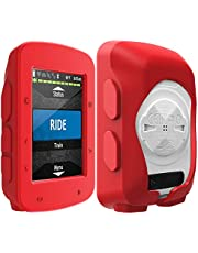 TUSITA Funda Compatible con Garmin Edge 520 Plus - Cubierta Protectora de Silicona - Accesorios de Computadora para Bicicleta GPS