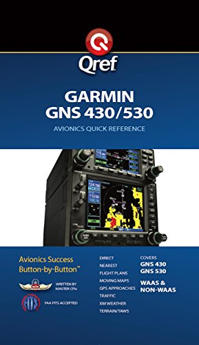 Garmin GNS 430/530 Quick Reference (Qref Avionics Quick Reference) (English Edition)