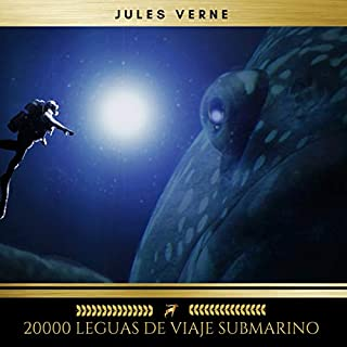 20000 Leguas de Viaje Submarino audiobook cover art