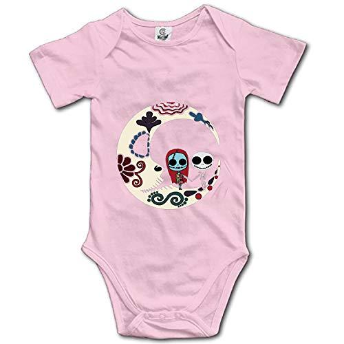 Nightmare Before Christmas Baby Bodysuit Infant Unisex Short Sleeve Summer Bodysuit