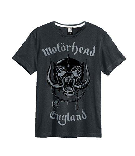 Amplified Motörhead England T-Shirt, Größe:XL;Farbe:Charcoal