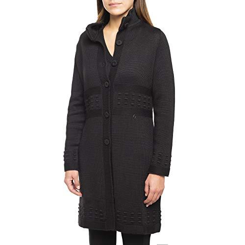 Nero Giardini A868090D Cappotto Da Donna In Maglia - Nero 48 EU