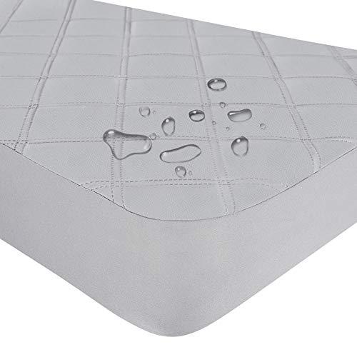 Yoofoss Protector de Colchón Bebé Impermeable para Cuna Cubre Colchon Transpirable Colcha de Bebé Impermeable Cubrecolchones (70x140cm)
