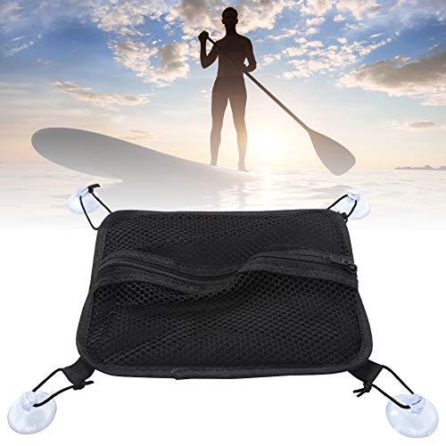Vcriczk Bolsa de Aleta para Tabla de Surf, Funda Protectora de Almacenamiento de Aleta de Bolsa de Aleta de 6 a 12 Pulgadas, timón Grande para Accesorio(Surfboard Paddle Board Rudder Waterproof Bag)