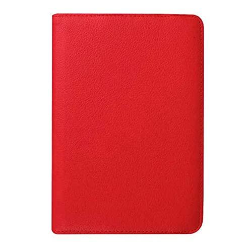 LIUCHEN Funda de tabletaFunda de Cuero para Samsung Galaxy Tab S2 8.0 T710 T719 SM-T715 Funda con imán para Fundas Funda Samsung Galaxy Tab S2 8.0, Rojo