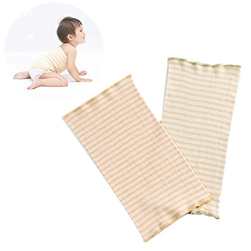 Baby Belly Button Band, 2pcs Pure Cotton Navel Hernia Truss Belt Newborn Umbilical Cord Kids Support Wrap Protector