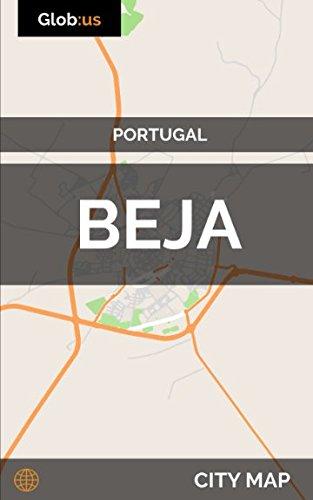 Beja, Portugal - City Map [Idioma Inglés]